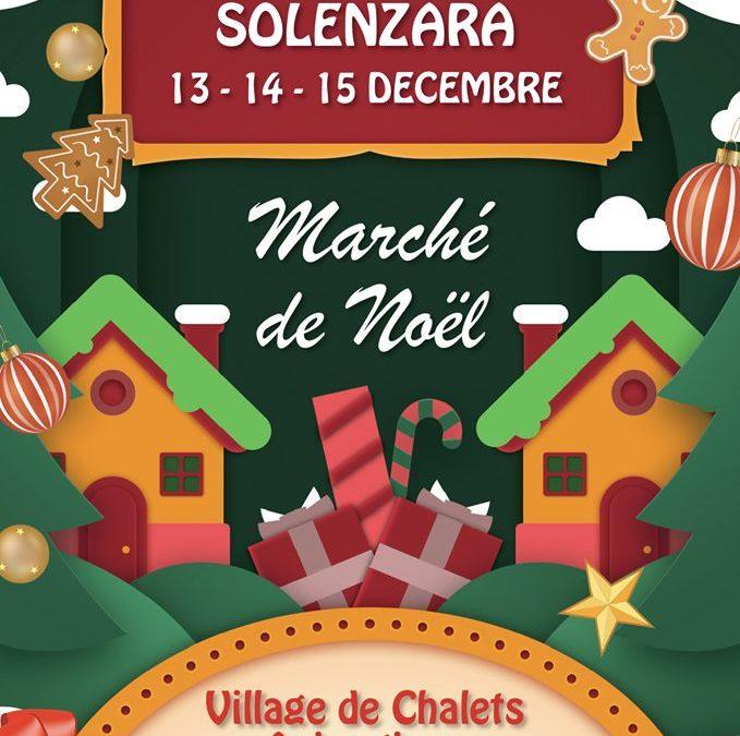 Le Marché de Noël de Solenzara aura lieu du 13 au 15 décembre