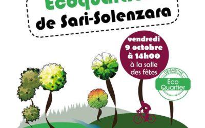 Concertation publique Écoquartiers le Vendredi 9 octobre 2020