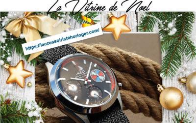 Vitrine de Noël / L'accessoiriste horloger