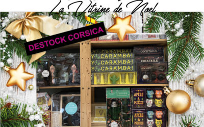 Vitrine de Noël / Destock Corsica