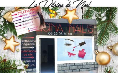 Vitrine de Noël / Félicina Nail's