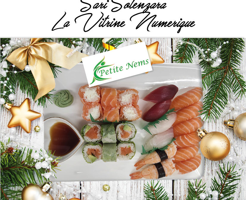 Vitrine de Noël / Petite nems