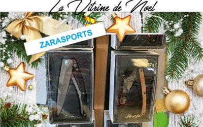 Vitrine de Noël / Zarasports